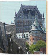 Quebec City 60 Wood Print