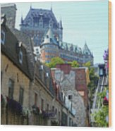 Quebec City 61 Wood Print