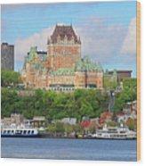 Quebec City  6326 B  Wood Print