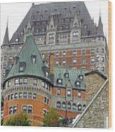 Quebec City 65 Wood Print