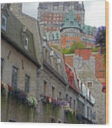 Quebec City 67 Wood Print