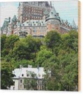 Quebec City 68 Wood Print