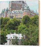 Quebec City 69 Wood Print