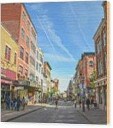 Rue St. Jean Wood Print