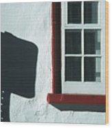Quebec Shadow 2 Wood Print
