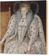 Queen Elizabeth I Of England And Ireland Wood Print