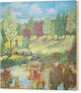 Queen Elizabeth Park Wood Print