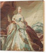 Queen Juliane Marie Of Denmark Wood Print