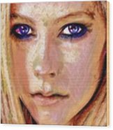 Queen Lavigne Wood Print