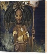 Queen Negasi Wood Print