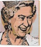 Queen Of Diamonds Wood Print