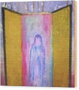 Queen Of Heaven Wood Print