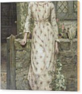 Queen Of May Wood Print