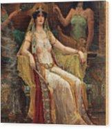 Queen Of Sheba Wood Print