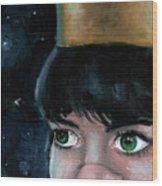 Queen Of Space Wood Print