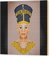 Queen Of The Nile Wood Print