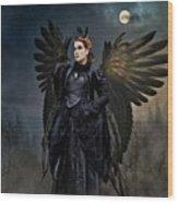 Queen Raven Wood Print