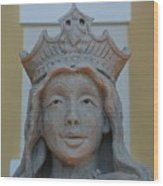 Queen Sandy Wood Print