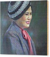 Queen Sirikit Wood Print
