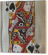 Queen Twice Wood Print