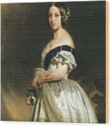 Queen Victoria Wood Print