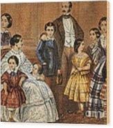 Queen Victoria, Prince Albert Wood Print