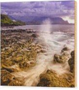 Queen's Bath Princeville Kauai 2015 Wood Print