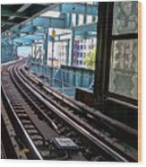 Queens Rails Wood Print