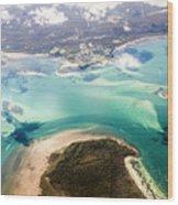 Queensland Island Bay Landscape Wood Print
