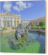 Queluz National Palace Sintra Wood Print