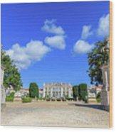 Queluz Palace Sintra Wood Print