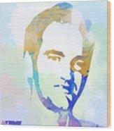 Quentin Tarantino Wood Print by Naxart Studio