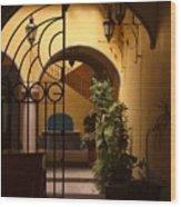 Queretaro Classic Wood Print