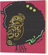 Questlove  Wood Print by Kamoni Khem