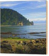 Quiet Bay Wood Print