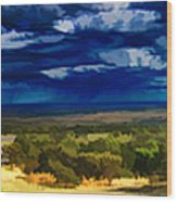 Quiet Before The Storm Wood Print