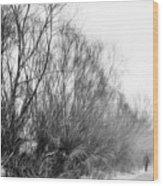 Quiet - Impressionist Street Photography Wood Print