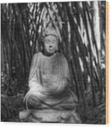 Quiet Meditation Wood Print