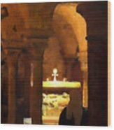 Quiet Prayers Wood Print