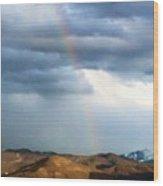 Quiet Rainbow Wood Print