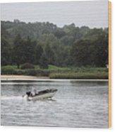 Quiet River Wood Print