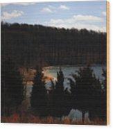 Quiet Shoreline Wood Print