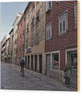Quiet Street In Rovinj - Croatia Wood Print