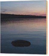 Quiet Tide Wood Print