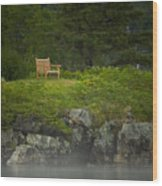 Quiet Time Wood Print