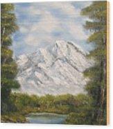 Quiet View Wood Print