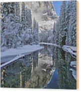 Quiet Winter Morning Wood Print