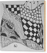Quilt Makers Wood Print