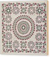 Quilt Wood Print