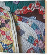 Quilted Comfort Wood Print